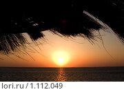 Закат солнца в Египте (2008 год). Стоковое фото, фотограф ElenArt / Фотобанк Лори
