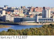 Купить «Город Омск. Речной вокзал», фото № 1112837, снято 18 сентября 2009 г. (c) Юлия Машкова / Фотобанк Лори