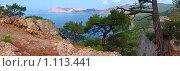 Панорама Крым под Балаклавой. Стоковое фото, фотограф Galina Semenova / Фотобанк Лори