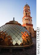 Купить «Ново-афонский мужской монастырь», фото № 1114437, снято 10 ноября 2008 г. (c) Андрей Цыбин / Фотобанк Лори
