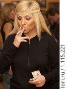 Купить «Валентина Легкоступова, певица», фото № 1115221, снято 23 октября 2007 г. (c) Сафронова Мария / Фотобанк Лори