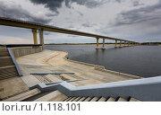 Купить «Геометрия моста 2», фото № 1118101, снято 26 сентября 2009 г. (c) Олег Ивашкевич / Фотобанк Лори