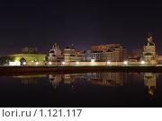 Купить «Набережная Йошкар-Олы ночью», фото № 1121117, снято 1 сентября 2009 г. (c) Константин Исаков / Фотобанк Лори