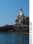 Маяк. Адриатическое море, Хорватия (2009 год). Стоковое фото, фотограф Сергей Бесчастный / Фотобанк Лори