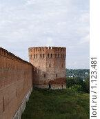 Купить «Крепостная стена. г.Смоленск», фото № 1123481, снято 24 сентября 2018 г. (c) Примак Полина / Фотобанк Лори
