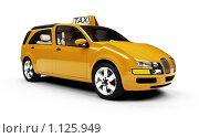 Купить «Такси будущего», иллюстрация № 1125949 (c) ИЛ / Фотобанк Лори
