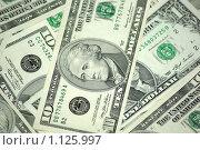 Купить «Фон из банкнот», фото № 1125997, снято 22 февраля 2008 г. (c) Роман Бородаев / Фотобанк Лори