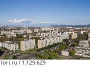Купить «Город Комсомольск-на-Амуре. Вид сверху», эксклюзивное фото № 1129629, снято 20 сентября 2009 г. (c) Алёна Кухтина / Фотобанк Лори