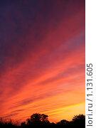 Закат. Стоковое фото, фотограф Павел Гундич / Фотобанк Лори