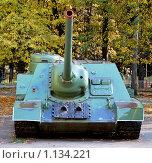 Самоходное орудие СУ-85 (2009 год). Редакционное фото, фотограф Ерёмин Никита / Фотобанк Лори