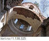 Руины церкви (глаз бога) Стоковое фото, фотограф Павлов Борис / Фотобанк Лори