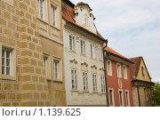 Цветные домики Чехии (2009 год). Стоковое фото, фотограф Чехов Дмитрий Валерьевич / Фотобанк Лори