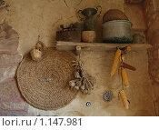 Купить «Декоративные украшения на стене», фото № 1147981, снято 22 сентября 2009 г. (c) Анна Мегеря / Фотобанк Лори