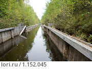 Купить «Соловецкие острова. Каналы между озерами.», фото № 1152045, снято 12 сентября 2009 г. (c) Михаил Ворожцов / Фотобанк Лори