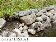 Купить «Соловецкие острова. Берег канала между озерами.», фото № 1153021, снято 12 сентября 2009 г. (c) Михаил Ворожцов / Фотобанк Лори