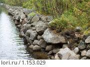 Купить «Соловецкие острова. Берег канала между озерами.», фото № 1153029, снято 12 сентября 2009 г. (c) Михаил Ворожцов / Фотобанк Лори