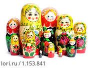 Русские матрешки. Стоковое фото, фотограф Анфимов Леонид / Фотобанк Лори