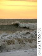 Волнение на море во время шторма. Стоковое фото, фотограф Георгий Солодко / Фотобанк Лори