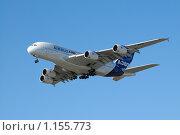 Airbus A380 Домодедово (2009 год). Редакционное фото, фотограф Борис Никитин / Фотобанк Лори