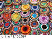 Купить «Яркие, разноцветные тюбетейки», фото № 1156597, снято 8 марта 2007 г. (c) Елена Ильина / Фотобанк Лори