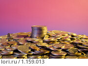 Монеты. Стоковое фото, фотограф Тимур Аникин / Фотобанк Лори