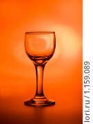 Стеклянный бокал. Стоковое фото, фотограф Тимур Аникин / Фотобанк Лори