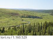 Купить «Уральская долина», фото № 1160529, снято 12 июля 2009 г. (c) Надежда Болотина / Фотобанк Лори