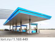 Купить «Топливозаправочная станция», фото № 1169449, снято 9 октября 2009 г. (c) Роман Сигаев / Фотобанк Лори