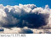 Темные облака. Стоковое фото, фотограф Дмитрий Малахов / Фотобанк Лори