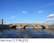 Купить «Прачечный мост», фото № 1174213, снято 11 октября 2009 г. (c) Татьяна Иванова / Фотобанк Лори