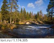 Купить «Водопады Карелии», фото № 1174305, снято 11 октября 2009 г. (c) Светлана Щекина / Фотобанк Лори