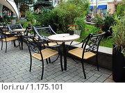 Купить «Летнее кафе», эксклюзивное фото № 1175101, снято 22 августа 2009 г. (c) lana1501 / Фотобанк Лори