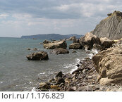 Побережье Черного моря около Лисьей Бухты (2009 год). Стоковое фото, фотограф Татьяна Емельянова / Фотобанк Лори