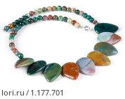 Купить «Ожерелье из полудрагоценных камней», фото № 1177701, снято 26 июля 2008 г. (c) Федор Кондратенко / Фотобанк Лори