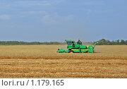 Купить «Уборка урожая», фото № 1179165, снято 5 июля 2009 г. (c) Сергей Литвиненко / Фотобанк Лори