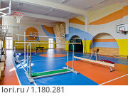 Купить «Школа надомного обучения в Малино (г. Зеленоград) - спортивный зал», фото № 1180281, снято 12 августа 2008 г. (c) Zelenograd.ru / Фотобанк Лори