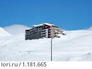 Отель на вершине горы. Стоковое фото, фотограф Elnur / Фотобанк Лори