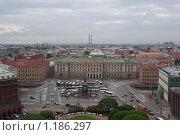 Вид на Петербург с высоты Исаакиевского собора (2009 год). Редакционное фото, фотограф Антон Тимохин / Фотобанк Лори