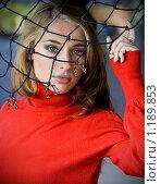 Купить «Дама в красном», фото № 1189853, снято 9 октября 2009 г. (c) Вероника Галкина / Фотобанк Лори