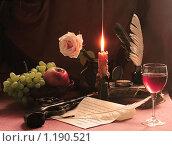 Купить «Стол молодого человека 19 века», фото № 1190521, снято 19 июня 2019 г. (c) Марина Володько / Фотобанк Лори