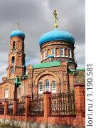 Покровский собор в Барнауле. Алтайский край (2009 год). Стоковое фото, фотограф Елена Гришина / Фотобанк Лори
