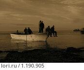 Рыбаки (2007 год). Редакционное фото, фотограф Ушаков Григорий / Фотобанк Лори