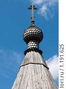 Купить «Один из куполов храма Св. Георгия Победоносца в Коптево», эксклюзивное фото № 1191625, снято 18 июля 2009 г. (c) Журавлев Андрей / Фотобанк Лори