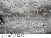 Капли на стекле. Стоковое фото, фотограф Галина Бушкова / Фотобанк Лори