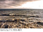 Шторм на Чёрном море. Стоковое фото, фотограф Владимир Сергеев / Фотобанк Лори
