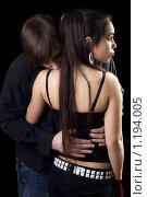 Купить «Портрет молодой пары», фото № 1194005, снято 12 апреля 2009 г. (c) Сергей Сухоруков / Фотобанк Лори