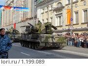 ЗРПК ''Тунгуска'' (вид сзади), Москва, 9 мая 2008, после парада на Красной площади. Редакционное фото, фотограф Владимир Тарасов / Фотобанк Лори