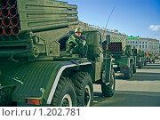 Купить «Военный парад ко дню Победы, Санкт- Петербург», фото № 1202781, снято 2 июня 2020 г. (c) Юрий Асотов / Фотобанк Лори