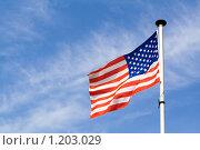 Флаг США. Стоковое фото, фотограф Петр Кириллов / Фотобанк Лори