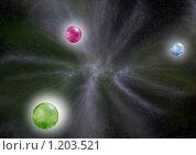 Черная дыра. Стоковая иллюстрация, иллюстратор Екатерина Новикова / Фотобанк Лори